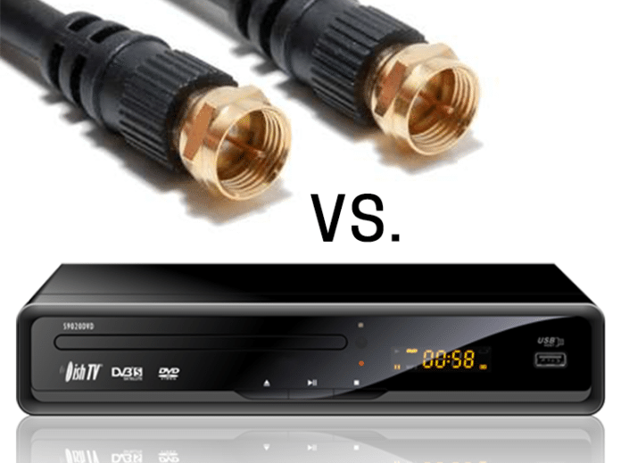 How are satellite TV, Fiber Optic, and cable TV different