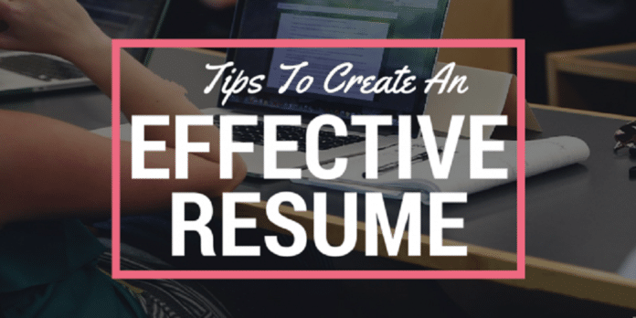 Tips to Create an Effective Resume